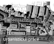 Projekty Urbanistické práce