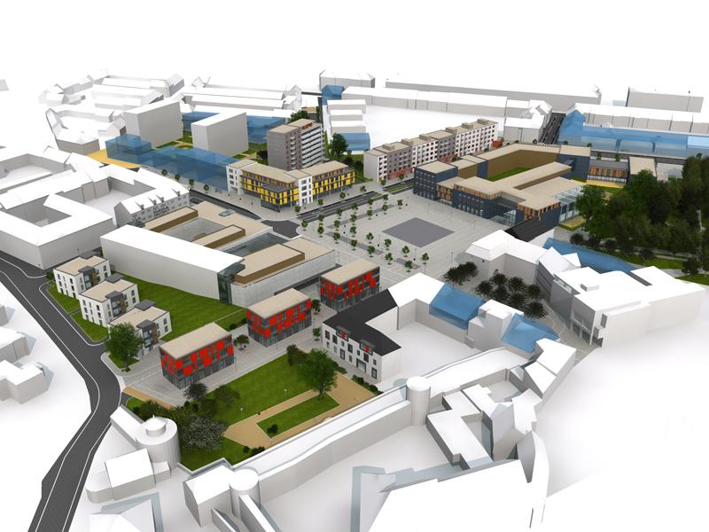 Návrh úprav náměstí svobody ve Znojmě