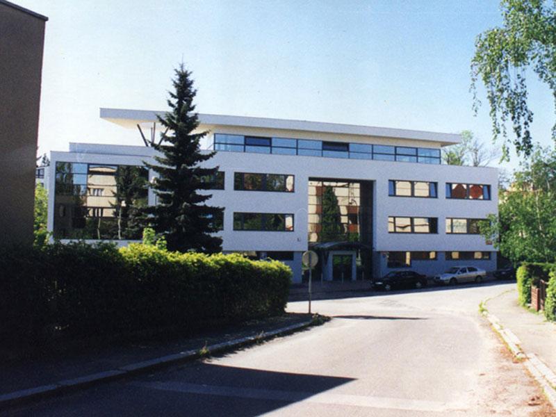 Sídlo společnosti Chemoprag v Praze 6 -Paťanka