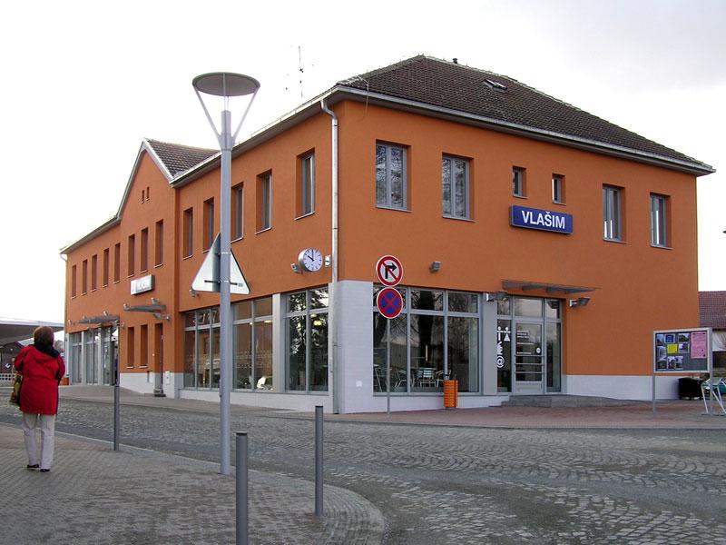 Rekonstrukce budovy nádraží ve Vlašimi