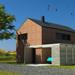 Energeticky efektivní rodinný dům se skládanou krytinou